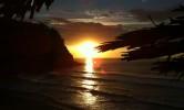 Ocaso en Playa de España